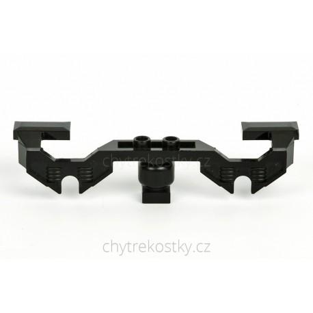 Boční dekorativní kryt motoru RC vlaku s otvory pro osy kol, LEGO 2871b
