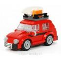 Volkswagen VW Brouk Mini v červené barvě, MOC verze setu LEGO Creator 40252