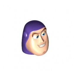 Hlava Buzze, LEGO Minifigure Head ze setu LEGO Toy Story 7597 a dalších.