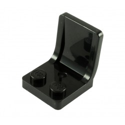 Sedadlo 2 x 2 x 2 - černé / black - LEGO 4079 / 58985 Seat