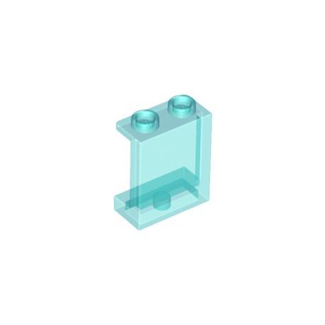 Ztmavené Okno / Panel 1 x 2 x 2 s bočními výztuhami LEGO 87552