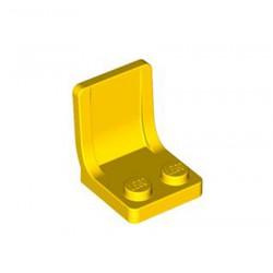 Sedadlo, sedačka 2 x 2 x 2 - žluté - LEGO 4079 / 407924 Seat