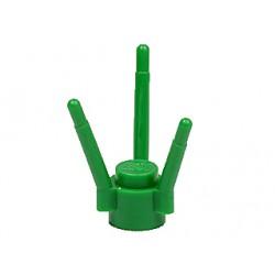 Rostlina - stonek, stéblo, tráva - zelená - LEGO Plant Stalk 3741