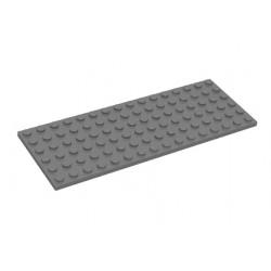Deska 6 x 16 - hnědá - LEGO Plate 3027 Reddish Brown