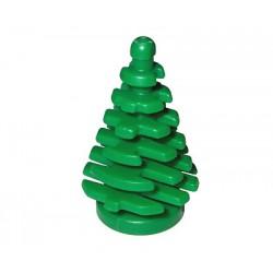 Rostlina - strom, malý smrk - zelený - LEGO Plant, Tree Pine Small 2 x 2 x 4