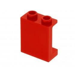 Panel 1 x 2 x 2 s bočními výztuhami - modrý - LEGO 87552