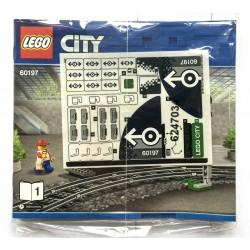 Originální obtisky a kompletní sada návodů pro stavebnici Osobní vlak, LEGO City 60197