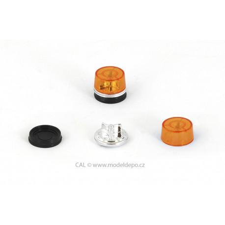 Maják PAL Nový Jičín (tzv. AZD 500 bez sirény) − oranžový − stavebnice − CAL 1:43