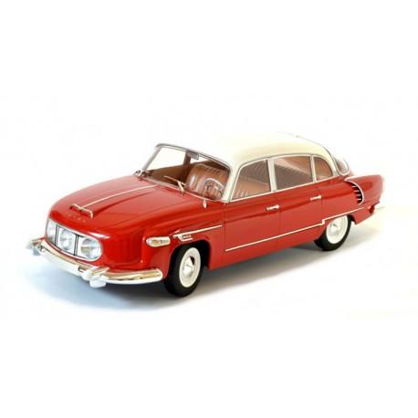 1969 Tatra 603-1 − červená s bílou střechou − Foxtoys 1:18