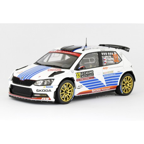 2017 Škoda Fabia III R5 − Rallye Monte Carlo 2017 − Kopecký/Dresler − Foxtoys 1:18