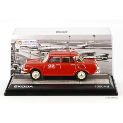 1964 Škoda 1000 MB – FOLLOW ME, Airport Prague − ABREX / Model DEPO 1:43