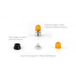 Maják Elektra LB-3 − oranžový − stavebnice − CAL 1:43