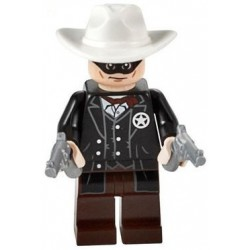 The Lone Ranger LEGO Minifigure