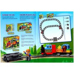 Návody k vytváření kolejišť pro LEGO Duplo 10506, 10507, 10508 a další