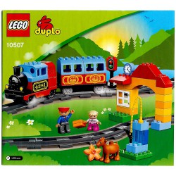 Návod pro Osobní vláček (Můj první vláček), LEGO Duplo 10507